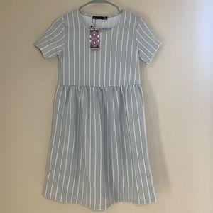 Striped Smock Maternity Dress